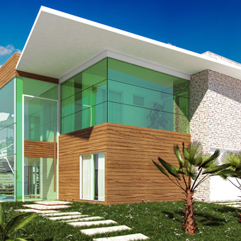 Casa Duplex Alphaville Fortaleza 01